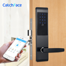 Połączenie bezpieczeństwa elektroniczny zamek cyfrowy inteligentny aplikacji wifi touch klawiatury ekranu blokada hasła drzwi domu drzwi biurowe blokady