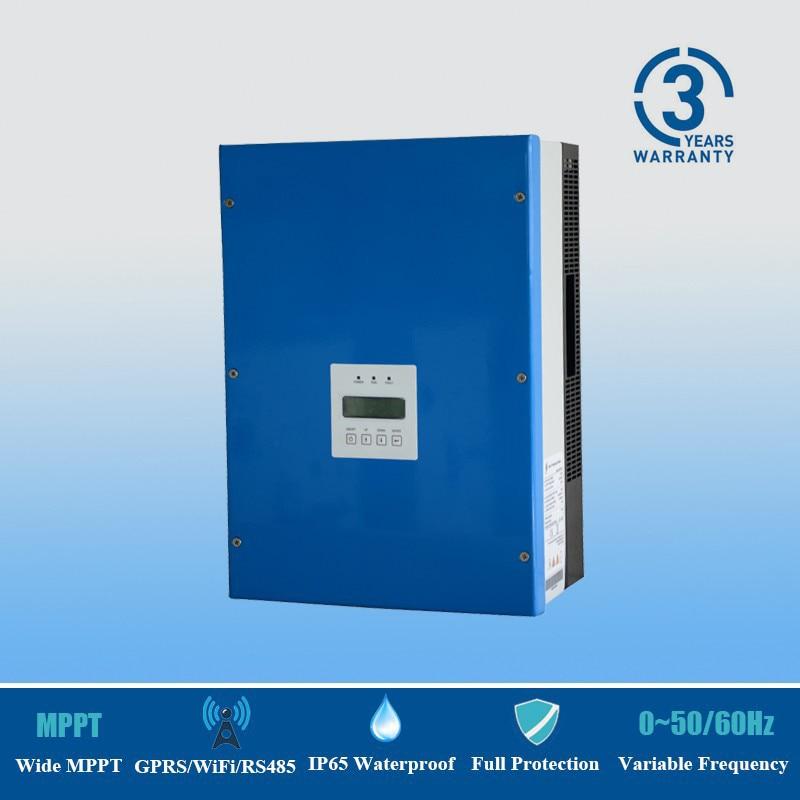 3KW Solar Water Pumping Inverter IP 65 Waterproof 220 240Vac 3 Phase