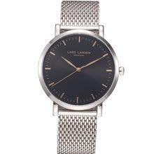 Denmark silver shade males watches quartz watch informal wristwatch males's wrist watch chrome steel watchband