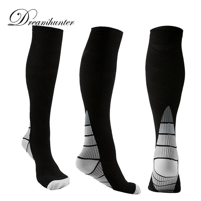 3c300d3c95 Pro Compression Socks Men Women Breathable Travel Activities Fit for Nurses  Shin Splints Workout Joggers Long Socks 2019 high