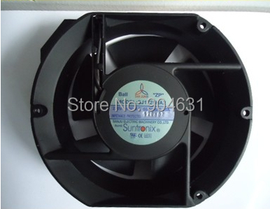 Free Shipping SANJUN SANJU Suntronix SJ1751HA1 AC110V Plastic Impeller Axial Flow Fan Made In Taiwan free shipping bi sonic fan 6c 230hb c 17251 ac 220v axial flow fan rpm2850 0 16a 30w rpm 2850
