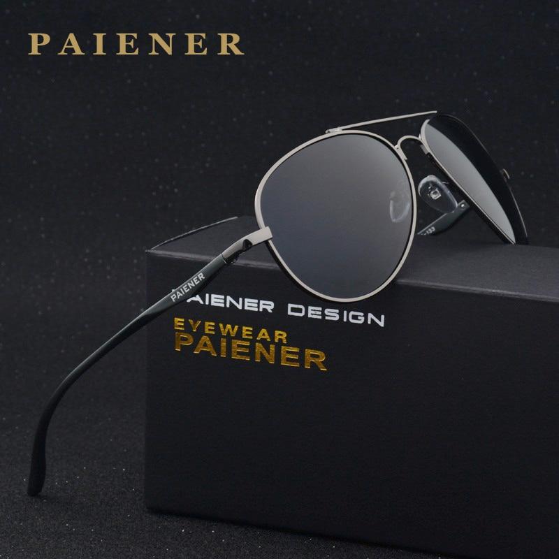 fashion brand Polarized Retro Aluminum Magnesium Alloy Sun glasses Male Man Luxury classic Metal leisure Sunglasses Anti Glare