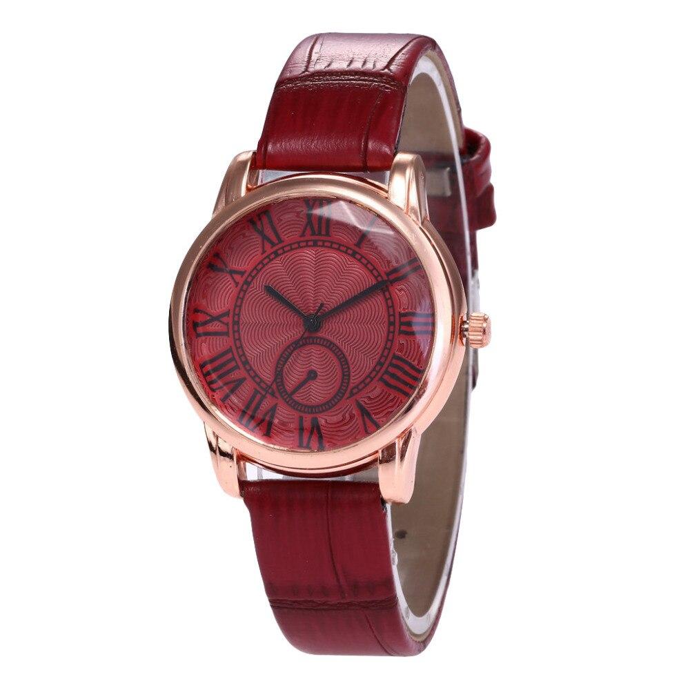 Uhren Beste Verkauf Frauen Armband Uhr Leder Band Armbanduhr Frau Kleid Damen Quarz Uhren Relogio Feminino Dropshiping 40q