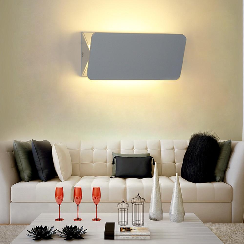 Modern wall lights for living room - Modern Led Wall Lamp Adjustable Abajur Aluminum Wall Sconce For Bedroom Dinning Living Room Indoor Lighting