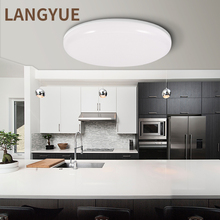 Modern led ceiling light Round Ceiling Lamp 220V 230V Panel light Bathroom Living Room Lights Kitchen Fixture for Home Lighting