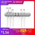 ORICO CBS enrollador de Cable de auricular Cable organizador personalizado Cable de almacenamiento de alambre de silicio cargador Cable Clips para MP3... MP4... ratón auricular