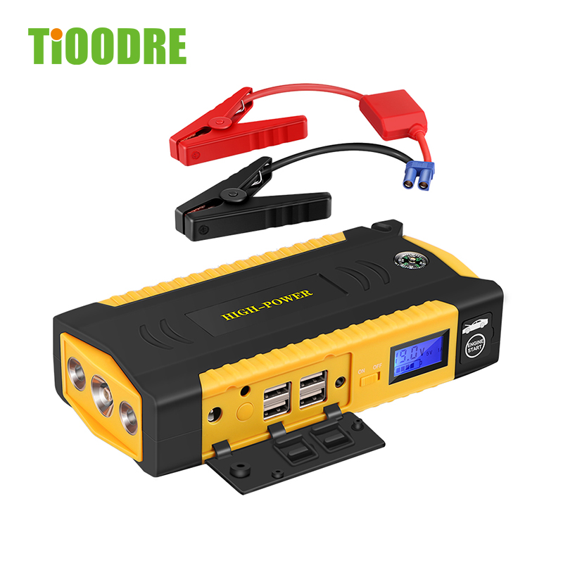 Multi-Function 13600mAh Car Jump Starter Portable 12V Petrol Diesel Starting Device Power Bank Charger For Car Battery Booster