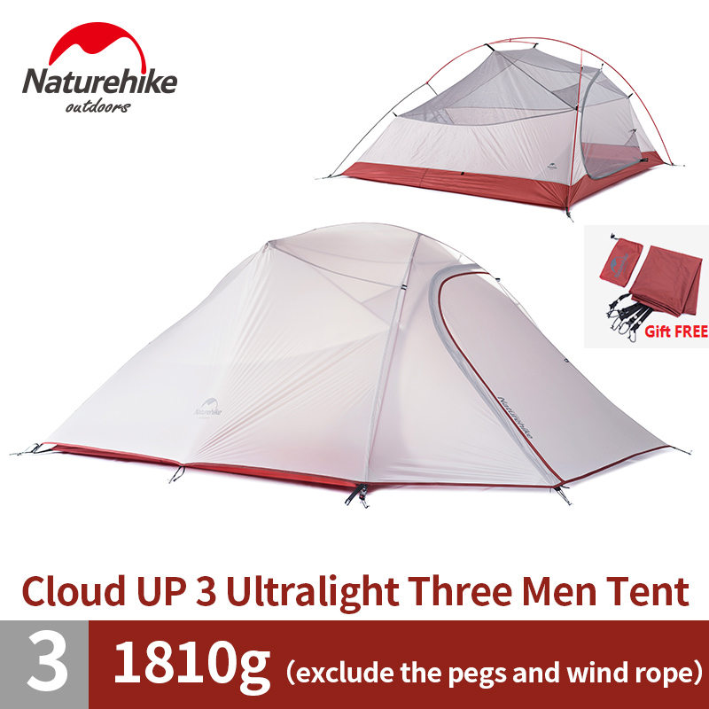 font b Naturehike b font Factory Store 2 1kg 3 4 Person Tent Double layer
