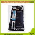 Примечание 4 N9100 рамка рамка экрана Для Samsung Galaxy Note 4 ЖК N9100 ЖК-Дисплей С Сенсорным Экраном Дигитайзер Ассамблеи DHL