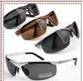 Nova Polícia Pesca Motorista Óculos Polarizados 100% Uv400 Óculos de Sol/Preto 933