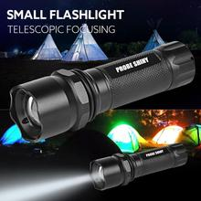 MA 21 Shining Fast Shipping LED Light     5000LM CREE Q5 AAA 3 Modes ZOOMABLE LED Flashlight Torch Super Bright