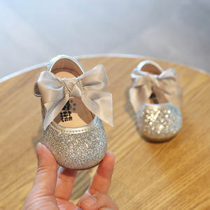 Shoes First-Walker Toddler Girls Baby Spring New Bebe Sequins Non-Slip Autumn