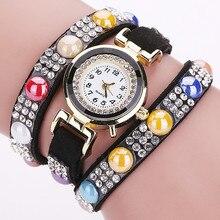 2017 Style Rhinestone Bracelet Wristwatch Girls Costume Watches Women Quartz Watch Informal Clock Feminine Relogio Feminino Present