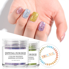 Купить с кэшбэком FOUR LILY Holo Dip Nail Powders Gradient Dipping Glitter Decoration Set Lasting than UV Gel Natural Dry Without Lamp Cure