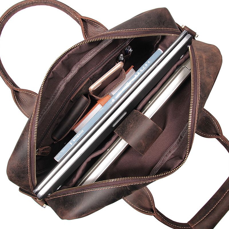 b1d8695f6 JEEP BULUO famosa marca nuevo diseño hombres maletín bolso bolsas para los hombres  de negocios de