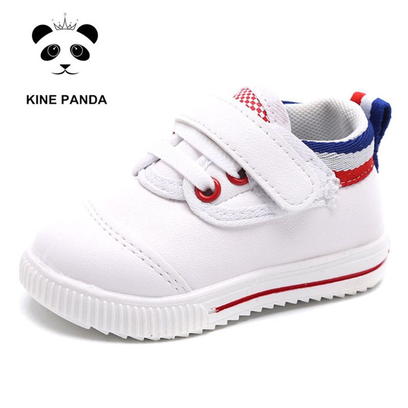 KINE PANDA Baby Shoes 1 2 3 Years Old Boy Girl Casual Sneakers Toddler First Walkers Sport Shoes Soft Anti-slide