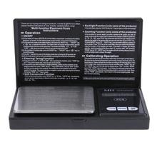 500g 0 01g Digital Pocket Scales High Precision LED Night Light Screen Electronic Jewelry Scale Balance
