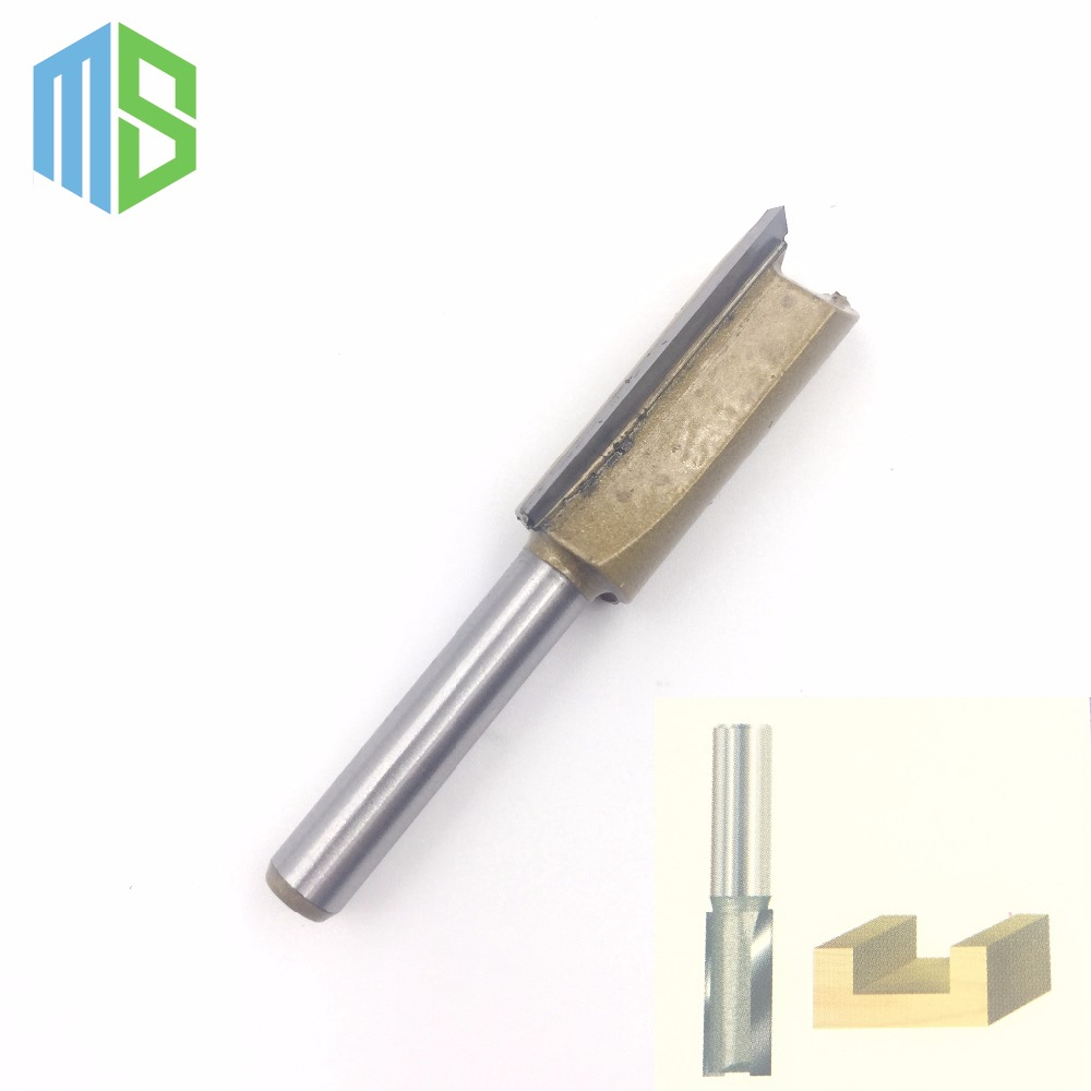 1/4 x 1/2 inch Straight Bit Tungsten Carbide Professional 1/4 Shank 1/2 Blade Router bit Wood Sharp Cutter Two Flute Wsasc 1 2 x 1 2 x 2 double flute straight router bit