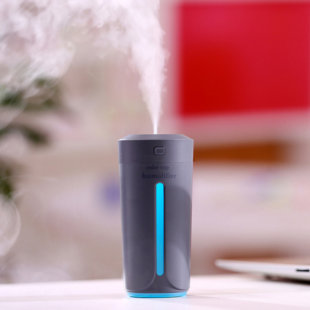 Mini Air USB Ultrasonic Humidifier Aroma Diffuser