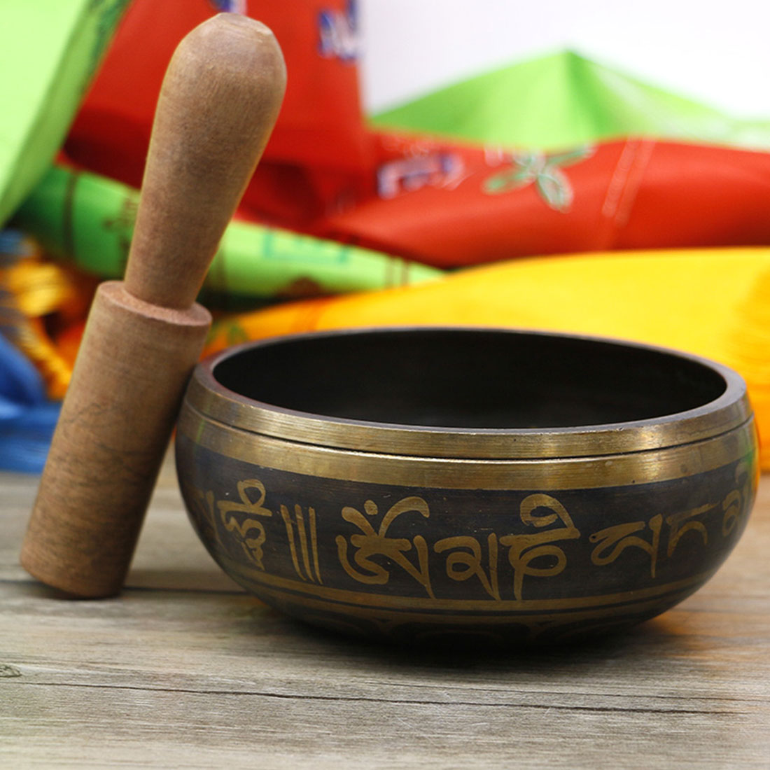 Tibetan Singing Bowl (8-17.5 cm) 3