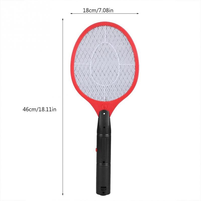 Image 2 - Home Electric Fly Mosquito Swatter Mosquito Killer Bug Zapper Racket Insects Killer Cordless Battery Power Mosquito Trap Swatter-in Repellents from Home & Garden