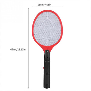 Image 2 - Home Electric Fly Mosquito Swatter Mosquito Killer Bug Zapper Racket Insects Killer Cordless Battery Power Mosquito Trap Swatter