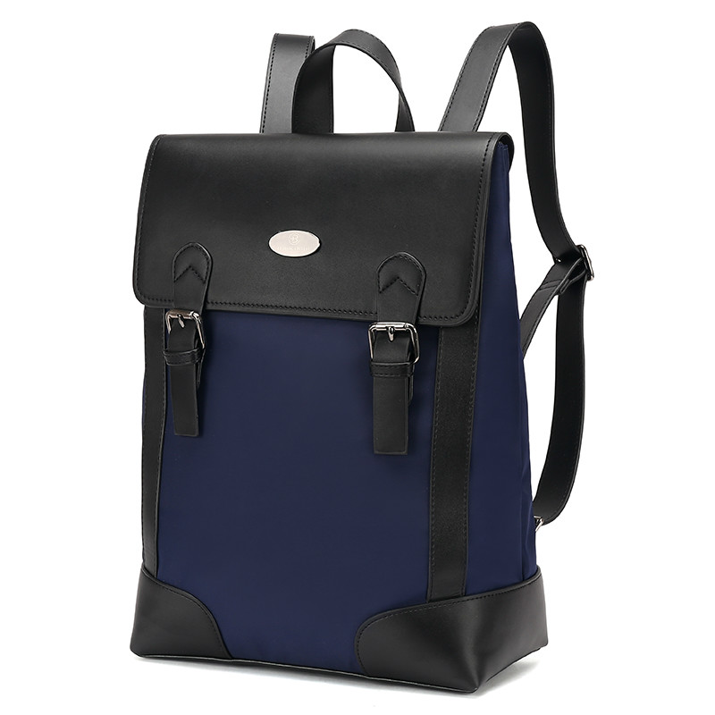 2018 Sale Promotion Pu Mochila Escolar Mochilas Men's Leather Backpack Bags Shoulder Briefcase Rucksack Laptop Bag 6006