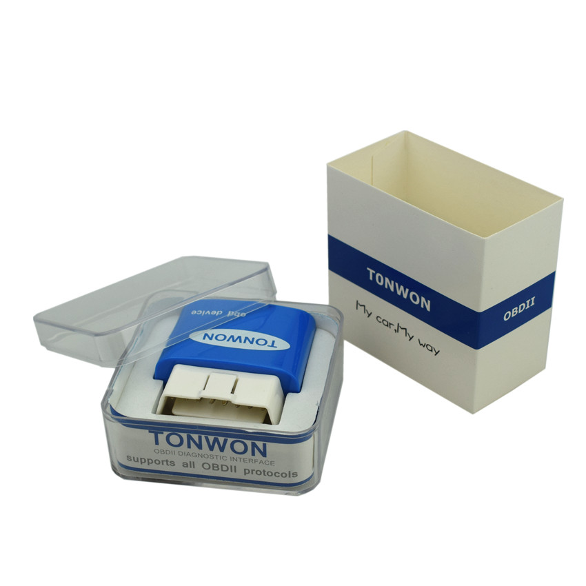 TONWON Pro Wi-Fi OBD2 ELM327,Car Vehicle Diagnostic Tool,Automotive Scanner,Car Fault Code Reader for iOS and Android