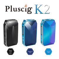 Pluscig K2 2900mAh Charged Zircon Surface Box Mod Electronic Cigarette Vape Kits compatibility with Brand Heating Tobacco stick