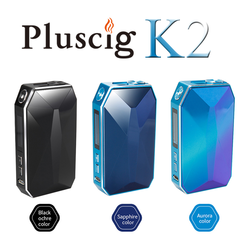 SMY Pluscig K2 2900mAh batterie Zircon Surface électronique cigarette Vape Kits compatibilité avec marque IQO chauffage bâton de tabac