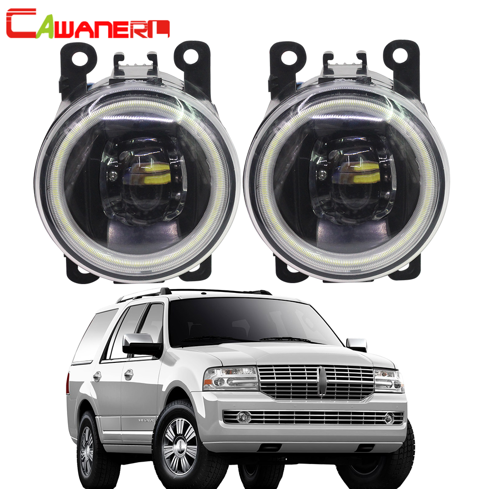Cawanerl For Lincoln Navigator 5.4L V8 2007-2014 Car 4000LM LED Lamp H11 Fog Light Angel Eye DRL Daytime Running Light 12VCawanerl For Lincoln Navigator 5.4L V8 2007-2014 Car 4000LM LED Lamp H11 Fog Light Angel Eye DRL Daytime Running Light 12V
