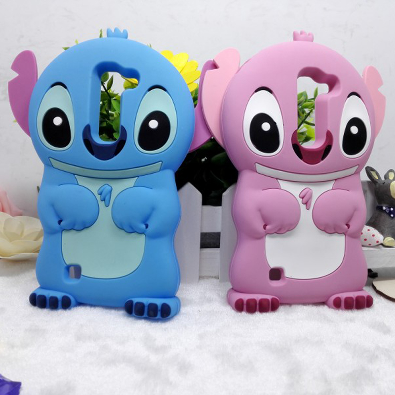 New arrival Cute Cartoon 3D Stitch Soft Rubber Cover Silicon Case For LG Magna C90 H502F G4c H525N Volt 2 G4 mini coque funda