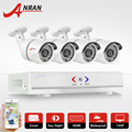 ANRAN HD 4CH CCTV System 720P HDMI DVR 4PCS 1.0MP 1800TVL IR Outdoor Video Surveillance Security Camera System 4CH AHD DVR Kit