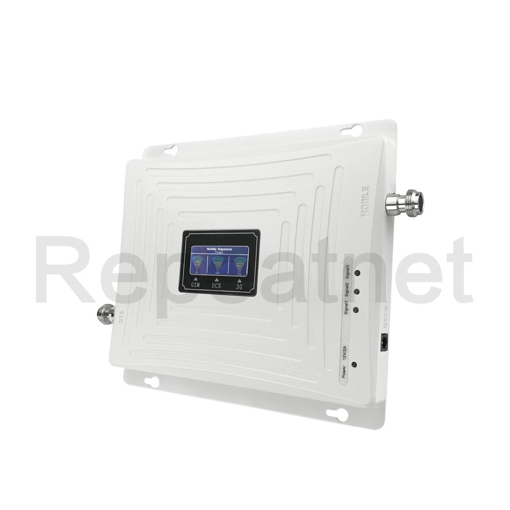 GSM 900mhz DCS 1800mhz WCDMA 2100mhz Repeater Tri Band Cellular - Ανταλλακτικά και αξεσουάρ κινητών τηλεφώνων - Φωτογραφία 3