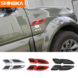 SHINEKA Newest Car Exterior Front Engine Hood Side Air Flow Vent Cover Trim Styling Sticker For Suzuki Jimny 2007+