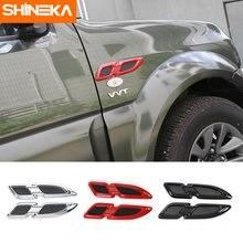 Shineka новейшая накладка на переднюю крышку автомобиля с вентиляционным