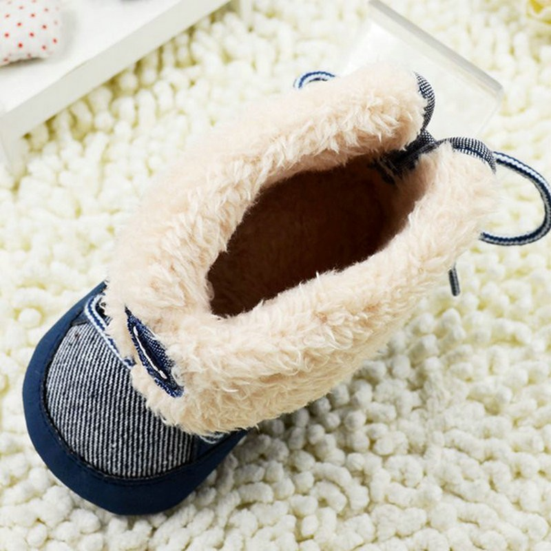 Newborn-Toddler-Baby-Boy-Girl-Winter-Warm-Fur-Snow-Boots-Stripes-Soft-Sole-Booties-First-Walkers-5