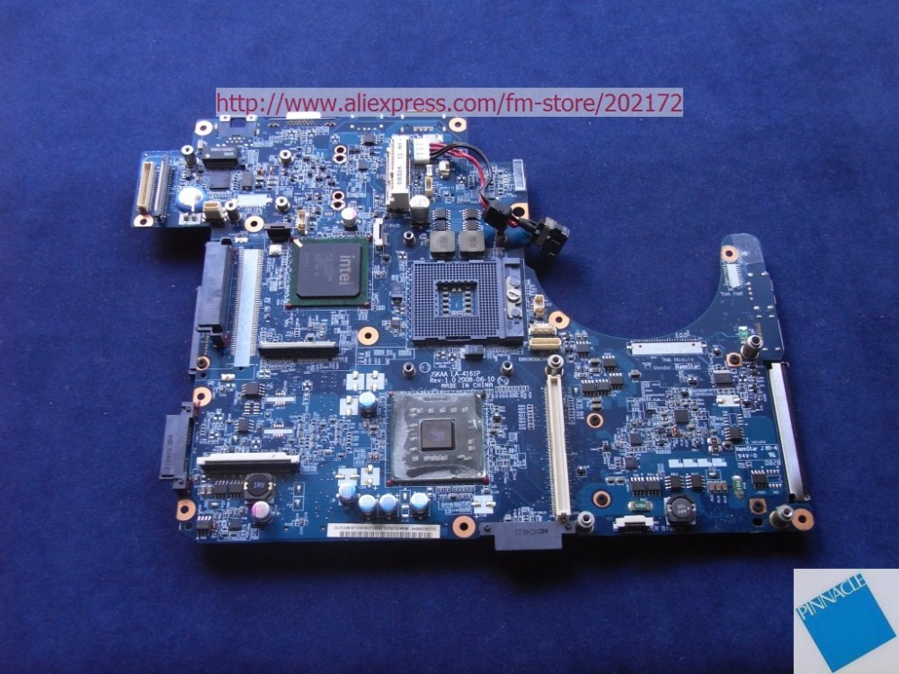 K000065130 Laptop Motherboard for Toshiba Qosmio F50 LA-4161P JSKAA L38 46156251L38 motherboard for toshiba qosmio f60 flesy3 p000536690 100% tested good