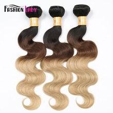 Ondulada de cabelo, moda, pré colorido, cabelo humano, ondulado, pacotes 1b/4/27 1/3/4 pacotes por pacote não remy