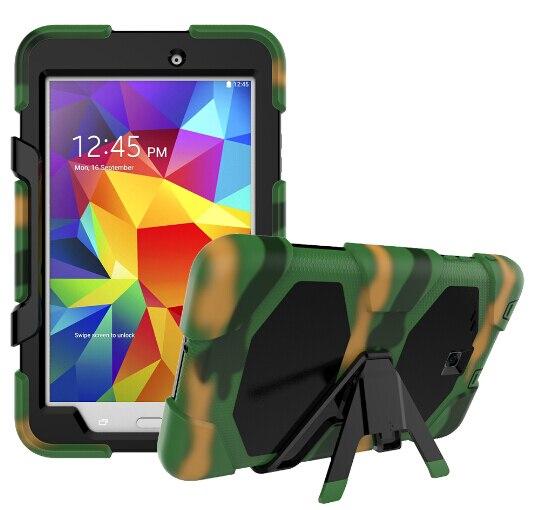 Amor Heavy Duty Case Para Samsung Galaxy Tab E 8.0 T377 T377V SM-T375 Tablet  Capa de Silicone + PC Tampa Traseira Kickstand Caso Capa 0bf27d82e6