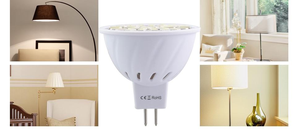 Led Spotlight Bulb E27 GU10 MR16 Led Lamp 220V 5W 7W 9W 18 24 32 Leds 5733 Bombillas Lampada (16)