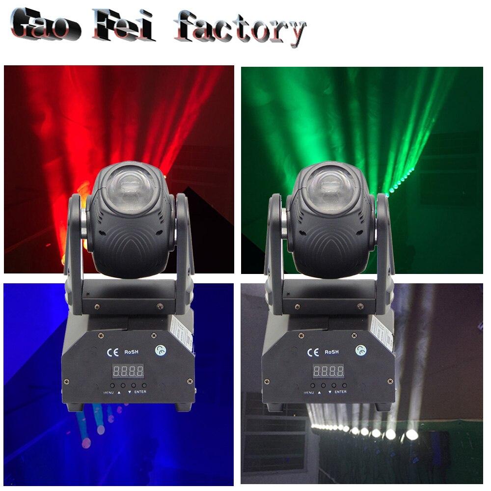 2 pz/lotto Fascio Angolo di 10 Gradi Mini Led Spot 10 W Moving Head Light 4 IN 1 RGBW Mostra KTV illuminazione2 pz/lotto Fascio Angolo di 10 Gradi Mini Led Spot 10 W Moving Head Light 4 IN 1 RGBW Mostra KTV illuminazione