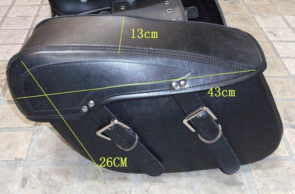 Motorcycle saddlebag motorcycle side bag Ha lley prince PU leather saddlebag hally VF250 MAGNA 250 bag mp 277 10 touch panel 6av6643 0cd01 1ax1 for machine repair fast shipping