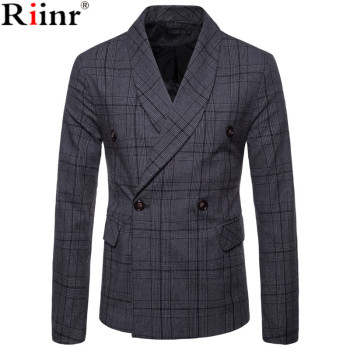 Men Lattice Formal Dress Suit