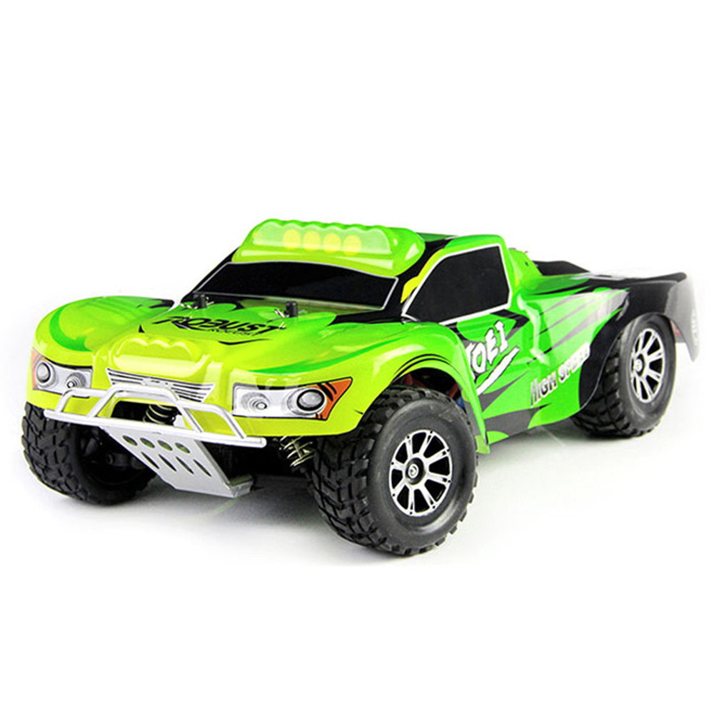 Wltoys A969 RC Racing Car 2.4G 4WD 1/18 50km/H RC Drift Short Course Truck Long Distance Control 4-Wheel Shock Absorber Truck 1 set wltoys a969 1 18 scale toys 2 4g 4wd 50km h rc drift short course long distance control 4 wheel shock absorbe