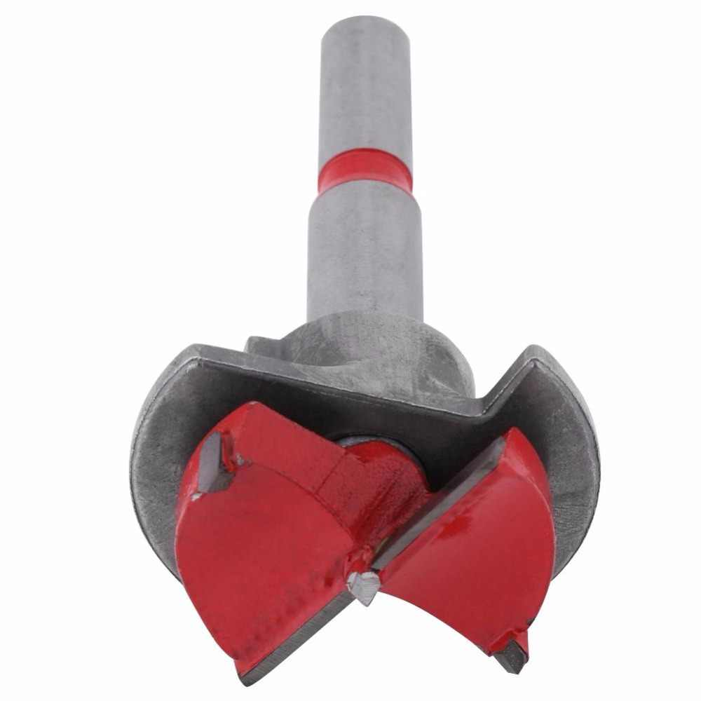35mm Forstner Auger Punta del trapano di Legno di Legno Taglierina Chiave Esagonale Lavorazione Del Legno Hole Seghe Per Utensili elettrici boortjes punzon automatico