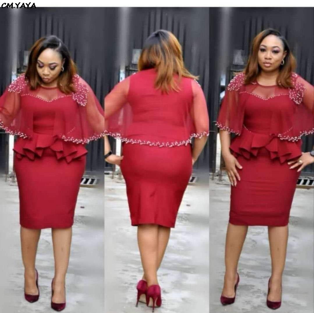 With bodycon bottom plus size dress ruffle size