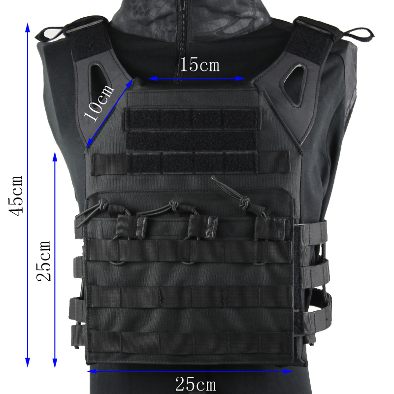 Hunting Tactics Molle Plate Carrier JPC Vest Military Role Playing Game gear hunting tactics molle plate carrier jpc vest military role playing game gear