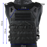 Hunting Tactics Molle Plate Carrier JPC Vest Military Role Playing Game gear