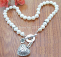 HOT## Wholesale price > ^^^^8-9MM AAA White Baroque Pearl Necklace